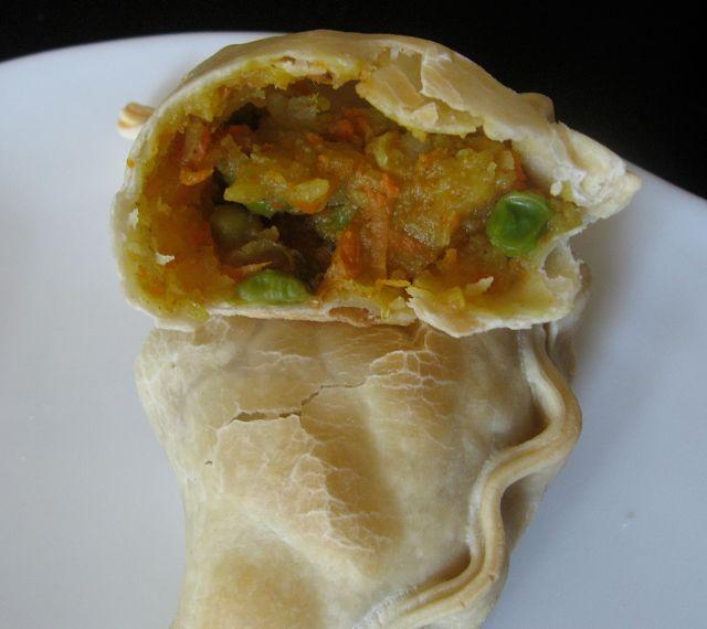 Samosas/ Empanadas vegetarianas al horno | En mi cocina hoy