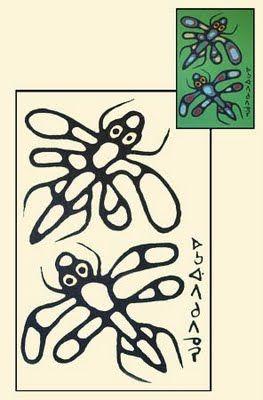 NORVAL MORRISSEAU BLOG: Norval Morrisseau Colouring Book (Part II)