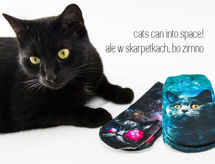 paniKOTA - Twój koci sklep  www.panikota.pl #paniKOTA #skarpetki #koty #skarpetki3D