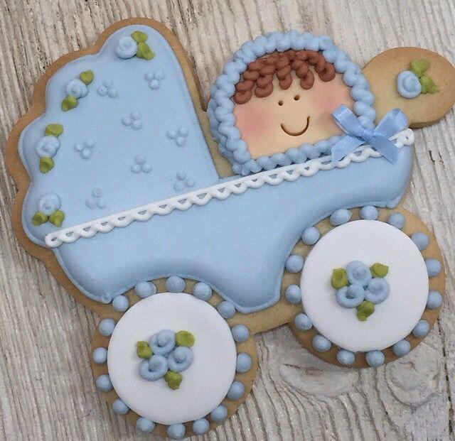 Baby cookies by Muy Dulce Vinuesa