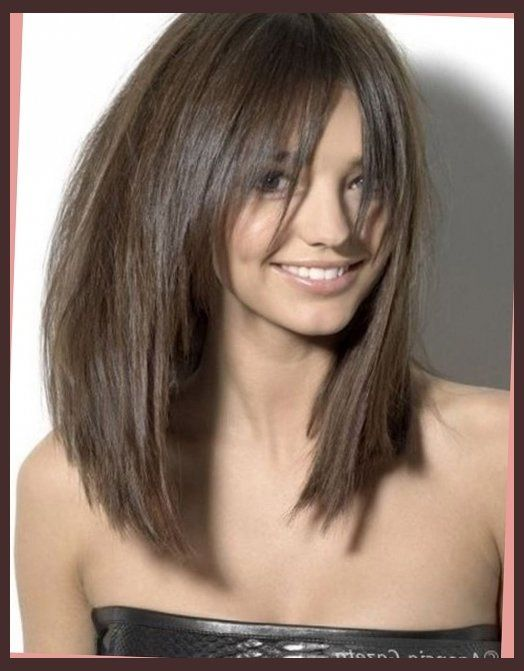how to cut a long bob