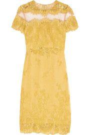 Mikael AghalEmbellished lace dress