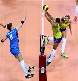 Post-Match - Italy-Brazil - FIVB World Grand Prix 2016