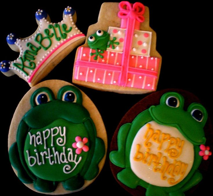 39 Best Images About Frog Decorated Cookies And Cake Pops
