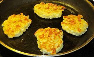 From Arepas to Zwetschgen: Cauliflower & Cheese Patties