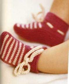 Вязание спицами носков для маленьких детей: схема и подробное описание работы