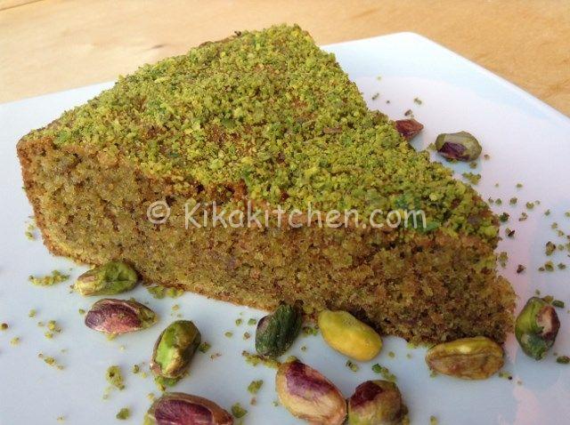 Torta al pistacchio di Bronte | Kikakitchen