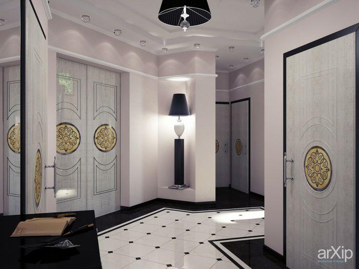 "Мужской интерьер от ""Vitta-group"" дом в Гурзуфе: интерьер, квартира, дом, коридор, неоклассика, 30 - 50 м2 #interiordesign #apartment #house #corridor #hallway #hall #passage #passageway #aisle #lobby #neoclassicism #30_50m2 arXip.com"