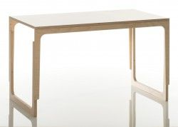 Sirch vaclav - Kinderschreibtisch - Holz, weiß, höhenverstellbar 60 - 72 cm, 299 Euro