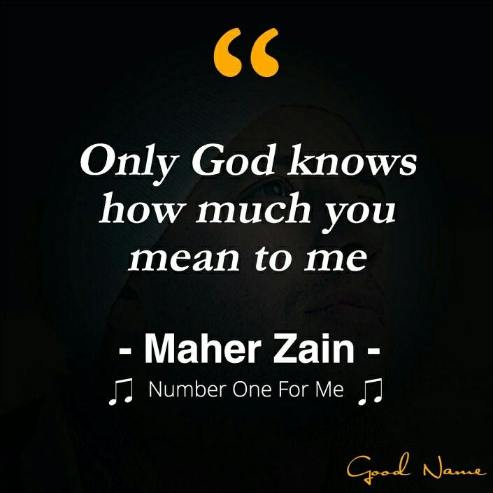 Quotes Maher Zain Song