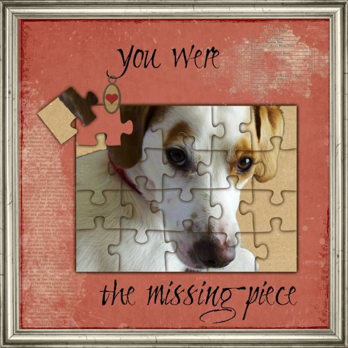 Sharing is Caring0000Use a simple embellishment for this adorable layout. All you need for this layout is one blank puzzle that you can adhere your photo to.                 Photo by Sherri Werner This is an amazing use of blank puzzles. This should give you a bunch of brain …