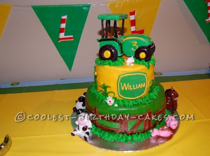 87 best Tractor cake ideas images on Pinterest John deere cakes