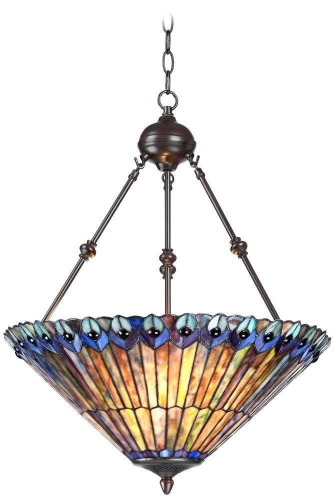 Pea Glass Tiffany Style Pendant Light Ceiling Fixture 3 20 Wide Tiffanystyle Lightfixture Ceilinglight Artnouveau
