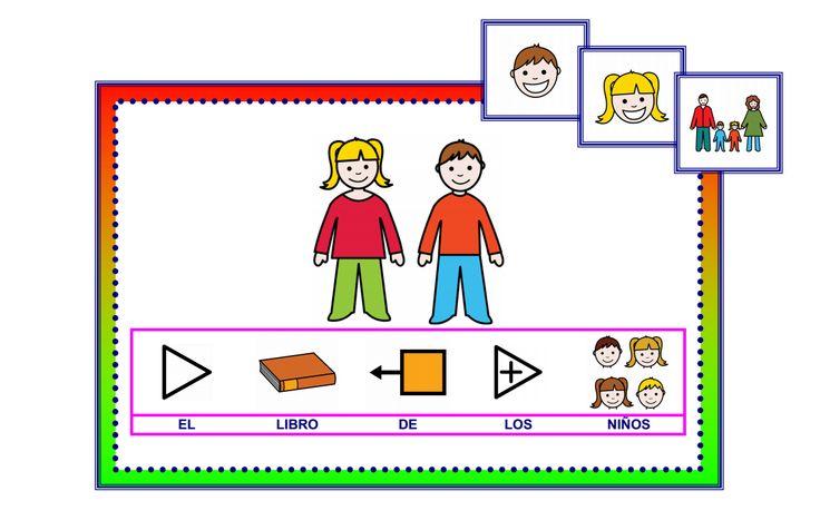 El libro de los niños - Portada. http://informaticaparaeducacionespecial.blogspot.com.es/2009/05/libros-para-hablar-libro-de-los-ninos.html