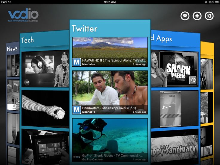 Vodio, Another Social Video-Watching App, Comes to iPhone