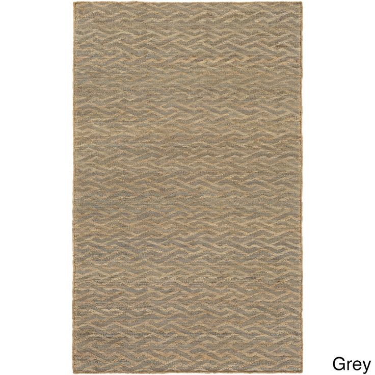 Hand-Woven Silsden Crosshatched Reversible Rug (8' x 10') | Overstock.com Shopping - The Best Deals on 7x9 - 10x14 Rugs