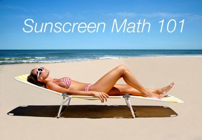 #BeautySchool: Sunscreen Math #MichellePhan