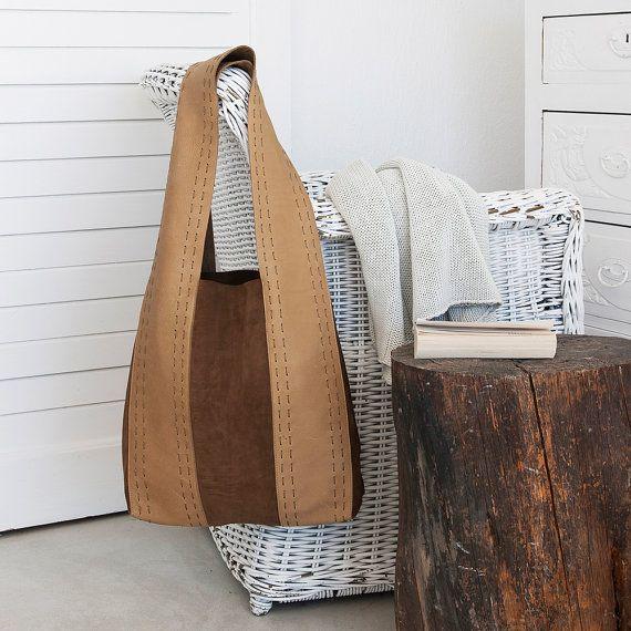 Winter bags Winter tote bags Suede and by ElenaVandelliBags