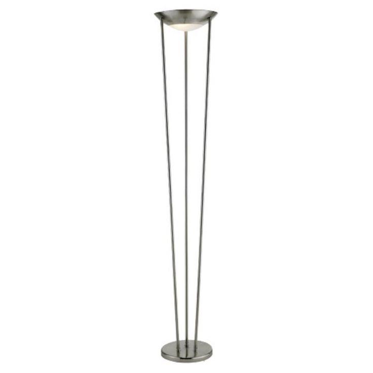Adesso 5233-22 Odyssey Silver Floor Lamp - 5233-22