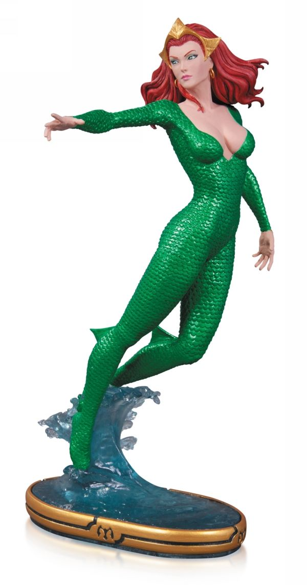 Kirin Hobby : DC Comics Cover Girls: Mera Statue by DC Collectibles