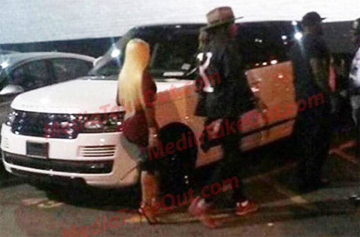 Rapper FUTURE Is Spotted . . . Taking Tyga's Babys Mama To The STRIP CLUB . . . Are They Going ON A DATE . . . Or Is Future Putting Her TO WORK????