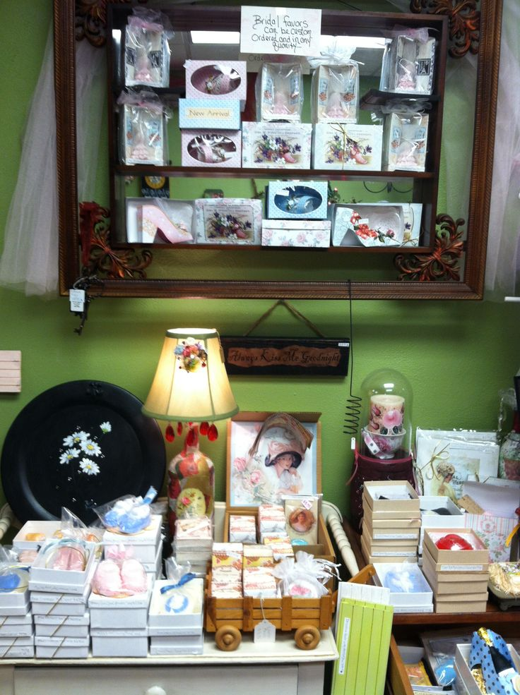 Wide selection of beautiful soaps at Rosi's Cottage Treasures. Located at 434 South Main St North Syracuse NY 13212. 315-458-8020.