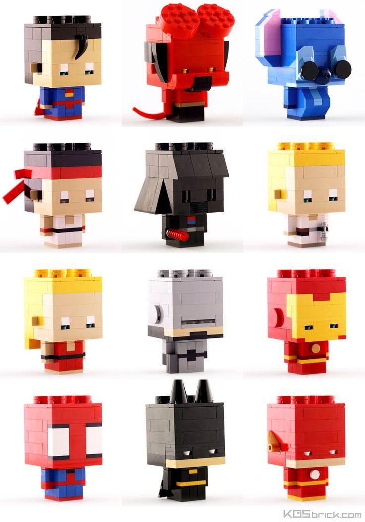 As excelentes criações em LEGO Kosmas Santosa