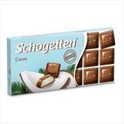 Молочный шоколад с кокосовой начинкой Schogetten,100g
