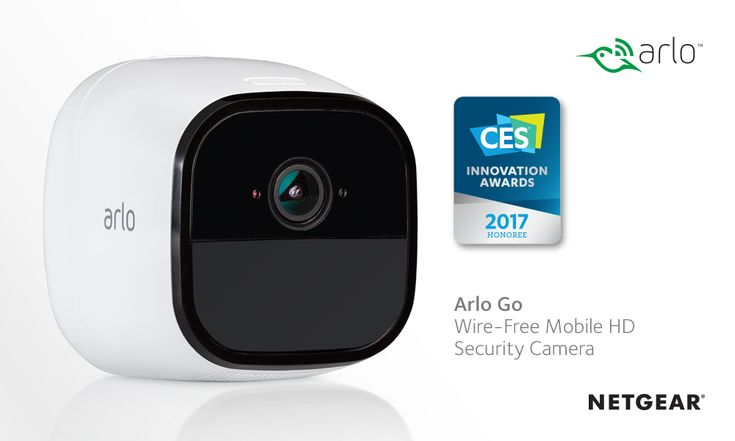 NETGEAR DEBUTS ARLO GO, FIRST 100% WIRE-FREE MOBILE HD SECURITY CAMERA WITH 4G LTE