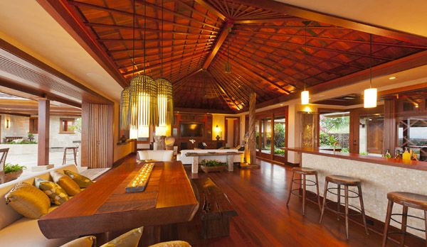 Exquisite Hualalai Resort luxury estate. Combining intelligent Asian architecture with the finest Balinese antiques and furnishings, Hale Ku Mana is a spectacular Hualalai Resort property in Hawaii. designed by renowned Balinese Designer Richard North Lewis