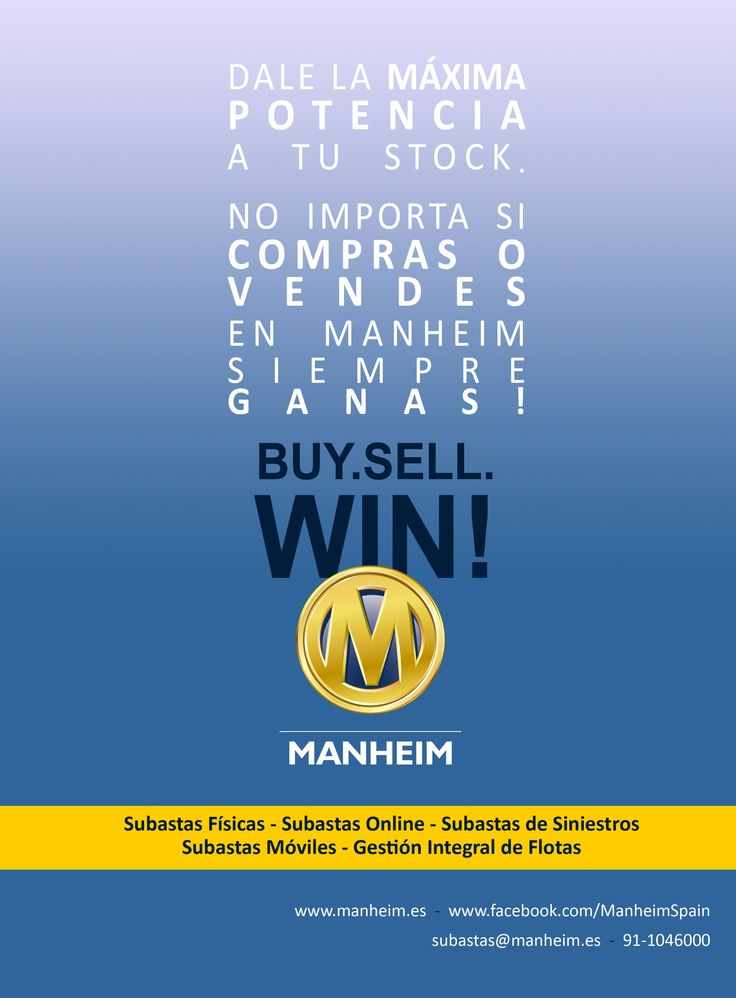 Publicidad de Manheim España