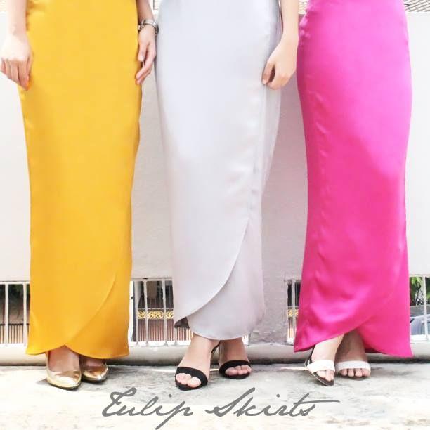 Adila Long's tulip skirt looks like a dream.