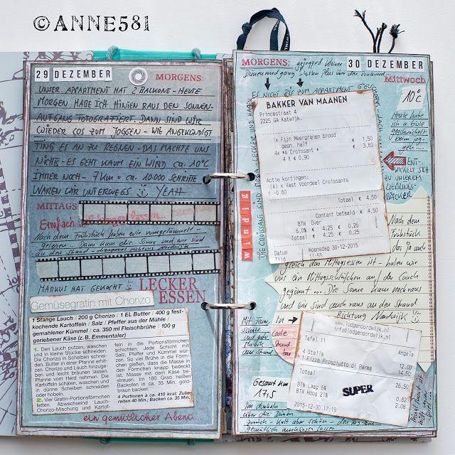 Die besten 25 reisetagebuch ideen auf pinterest sammelalbum fotoalbum scrapbooking und - Fotoalbum selbst gestalten ideen ...