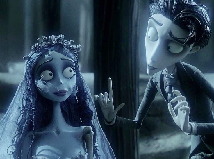 T I M B U R T O N On Instagram I Want Victor To Play The Piano For Me Tbh Tim Burton Corpse Bride Tim Burton Films Corpse Bride Movie