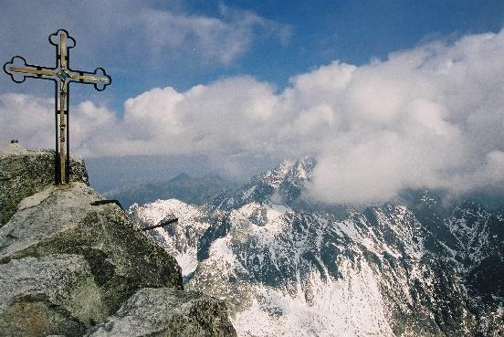 Gerlachovský štít, Slovakia - the highest peak in the Slovakian Tatras range