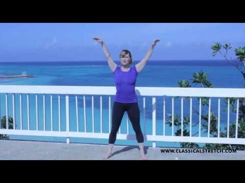 Classical Stretch Workout. Just started working out with Miranda on TV. She has DVD's, but I really like what she offers. Check it out and see! Her work outs are age-defying!