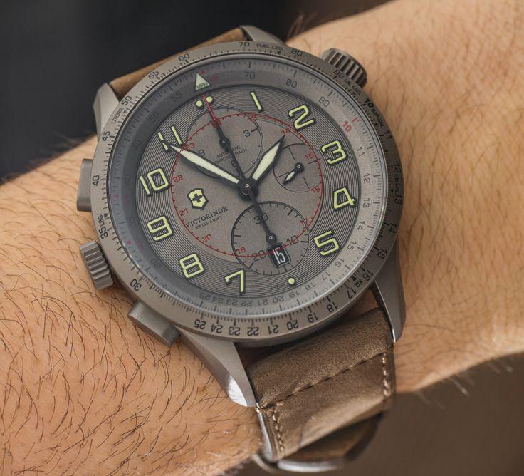 Victorinox Swiss Army Airboss Mach 9 Titanium Limited Edition Watch Hands-On Hands-On