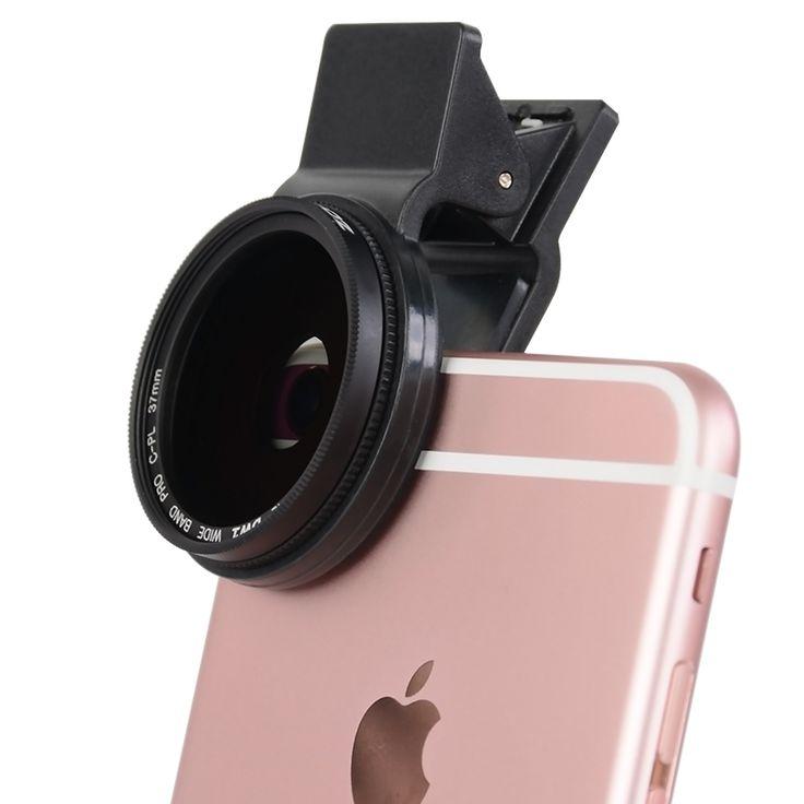 Zomei 37mm klip ponsel len edaran polarizing cpl filter untuk iphone 6/5 ipad untuk huawei mate samsung dll