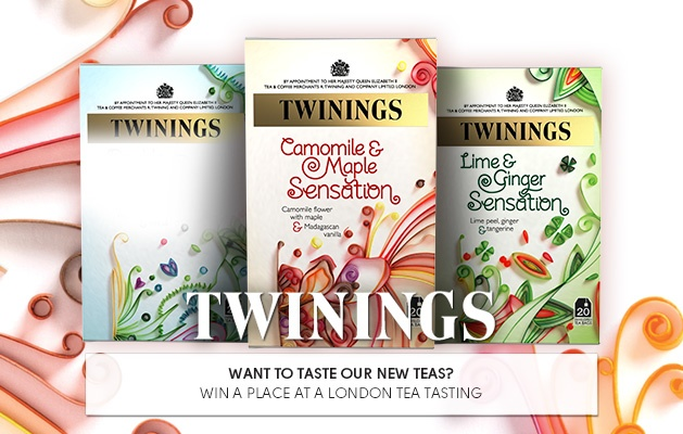 #WinWithTwinings - Calling all Tea Lovers!! Win a place at a London Tea Tasting