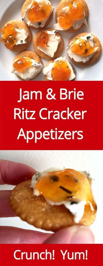 New Appetizers For Party Dips Ritz Crackers 34+ Id…