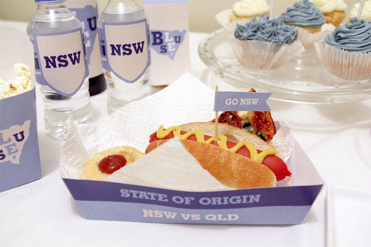 New South Wales (Blues) State of Origin Snack Box | Creative Sense Co