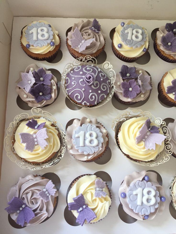 Cupcakes 18th birthday