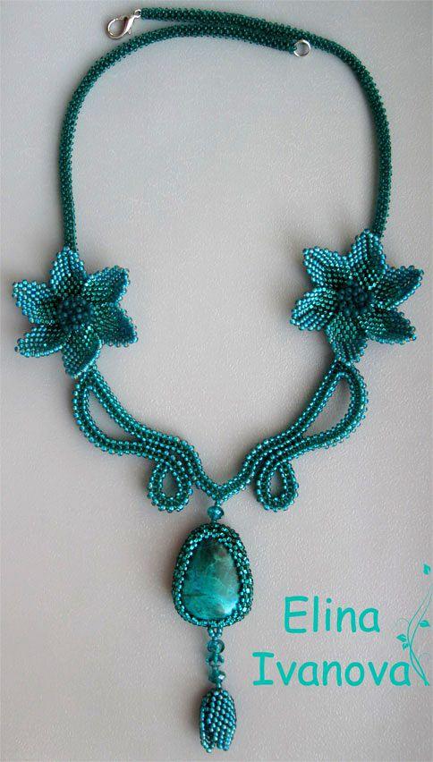 Beautiful beaded jewelry by Elina Ivanova   Beads Magic