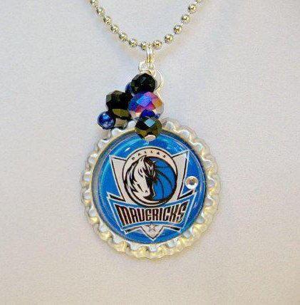 Dallas Mavericks Basketball Necklace Mavericks Jewelry