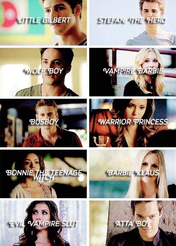 Damon's nickname for everyone. LOL