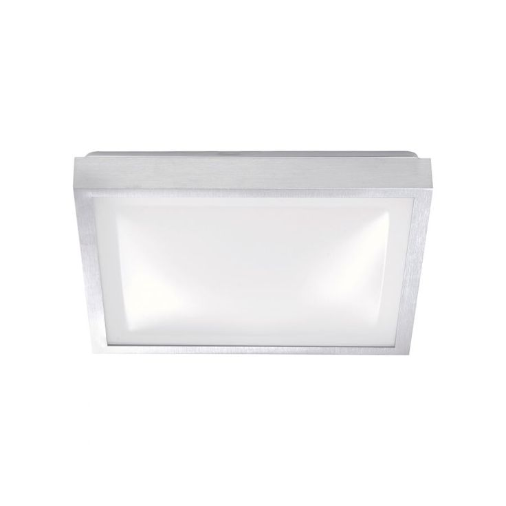 EEK A+, LED-Deckenleuchte Sellin - Silber - Aluminium Matt, FLI Leuchten