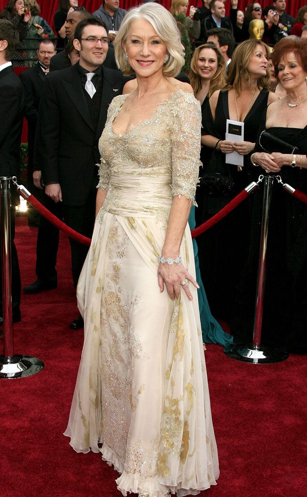 Helen Mirren from 50 Years of Oscar Dresses: Best Actress Winners From 1954 - 2014 | E! Online