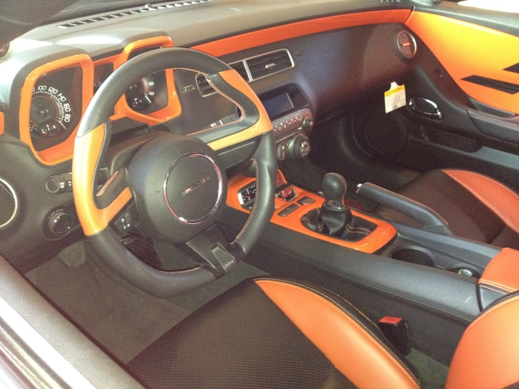 custom camaro ss interior barrett jackson 2012. Black Bedroom Furniture Sets. Home Design Ideas