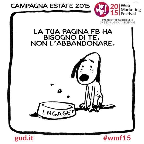 Fumetto #wmf15 #engagement su #Facebook