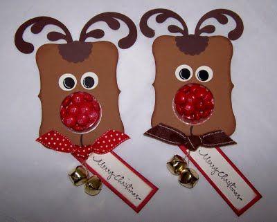Reindeer candy holders